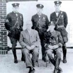 Historic Photo of officers